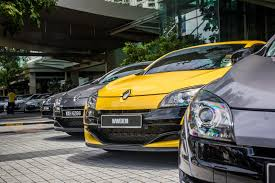 renault alliance tan rs collectif heads for the nissan renault roadshow bangsar