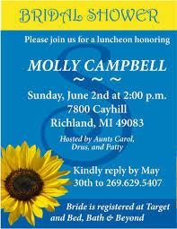 21 sunflower wedding invitation templates free sle exle