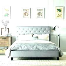 light grey upholstered bed grey upholstered headboard russellarch com