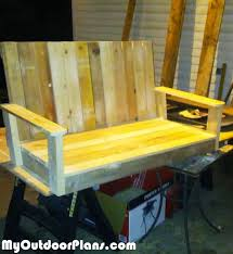 Free Wood Glider Bench Plans by Diy Glider Bench Myoutdoorplans Free Woodworking Plans And