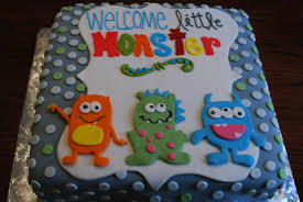 monsters inc baby shower cake photo elephant baby shower cake image