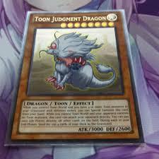 toon judgment dragon ultra rare orica proxy fanmade yugioh