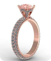 Princess Wedding Rings by Rose Gold And Diamonds Wedding Ring Jewelry I Need