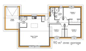 plan maison 1 騁age 3 chambres plan maison 騁age 3 chambres 28 images r 233 sultat de