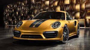 porsche 911 inside here u0027s what makes the 2018 porsche 911 turbo s exclusive series so