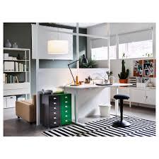 skarsta desk sit stand white 120x70 cm ikea