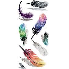 feather tattoos amazon com