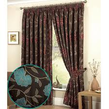 Brown Floral Curtains Floral Kitchen Curtains U2013 Kitchen Ideas