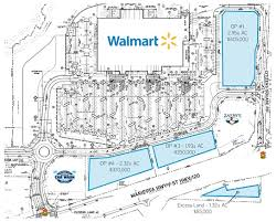 Walmart Floor Plan Walmart Supercenter Outparcels Dallas Colliers International
