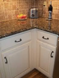 White Kitchen Cabinets With Black Granite Countertops White Kitchen Cabinets Baltic Brown Granite Countertop Tile