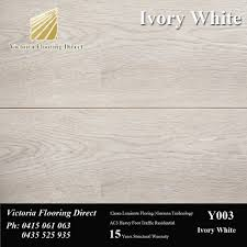 12mm Laminate Flooring Sale Ivory White 12mm Laminate Floor Floating Timber Flooring