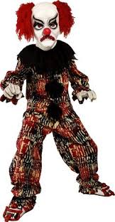 Evil Clown Halloween Costumes 7 Clown Costume Images