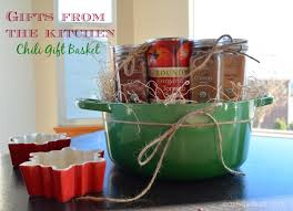 gifts from the kitchen chili gift basket the outside family