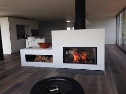 a stuv 21 125 double sided stove and housing fitted by hagley