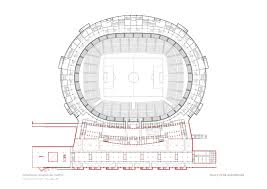 Emirates Stadium Floor Plan Design Wanda Metropolitano U2013 Stadiumdb Com