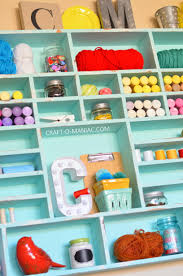 Cubby Wall Shelf by Diy Craft Cubby Wall Craft O Maniac