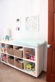 Change Table Accessories 25 Cool Ways To Furnish A Nursery With Ikea Digsdigs
