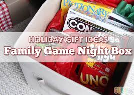 family gift basket ideas gift ideas family in a box gublife
