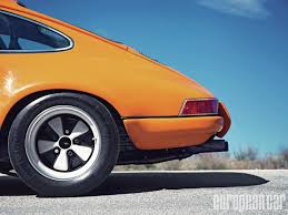 Porsche 911 Orange - 1971 porsche 911 t s t european car magazine