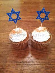 where to buy hanukkah decorations aliexpress buy cheap hanukkah of david cupcake toppers