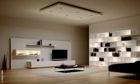 home and living it home lighting ideas for modern home or modern open space living room design lighting system ideas with cool led ceiling recessed and wall shelves concealed lights creative eye catching home