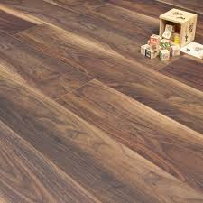 Laminate Flooring Without Beading 25m2 Bundle Deal 18 Boxes Reinier Walnut 12mm 1 Roll Of White
