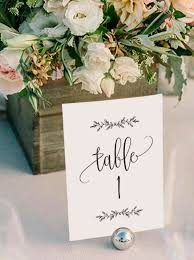 table numbers for wedding wedding table numbers printable table numbers rustic table