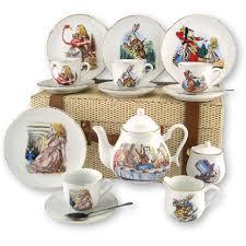 beatrix potter tea set in tea set by reutter porcelain
