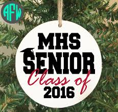 graduation ornament class of 2016 ornament personalized