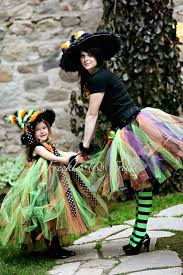 Nanny Halloween Costume Cute Halloween Witch Tutu Costume Mother Daughter