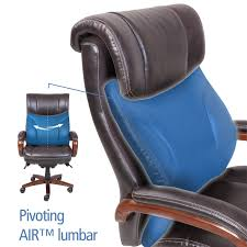 Blue Leather Executive Office Chair La Z Boy Trafford Big And Tall Executive Office Chair Vino