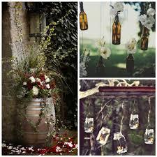 Diy Garden Wedding Ideas Wedding Ideas Rustic Wedding Decorations Diy Outdoor Wedding