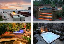 Backyard Hot Tub Designs Hot Tubs And Swim Spas In Pickering - Backyard spa designs