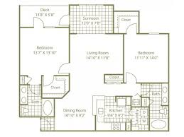 Two Bed Two Bath Apartment 2 Bed 2 Bath Apartment In Charlotte Nc The Enclave At Rivergate