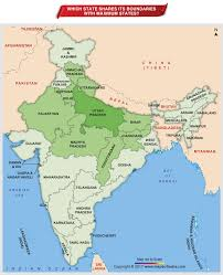 Punjab India Map by Indian States Boundaries Archives Answers