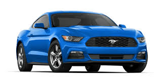blue mustang 2017 ford mustang now available ford authority