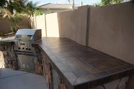 outdoor kitchen countertop ideas countertops backsplash black ceramic tiles outdoor kitchen