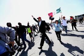 Breton Flag Marcos Breton Stop Waving Mexican Flag At Trump Protests The
