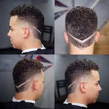 perfect double v hair tattoo idea men mens haircuts and
