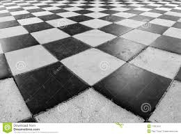 black and white checker floor tile pattern stock images image