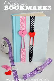 ribbon bookmarks bookmarks books and craft
