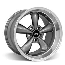 wheel mustang dish bullitt wheel 17x10 5 anthracite 94 04
