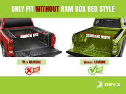 Dodge Truck With Ram Box - amazon com oryx auto soft roll up tonneau cover truck bed cover