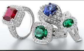 gem diamond rings images Colored gems and diamond rings wedding promise diamond jpg