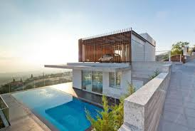 story modern house designs ocean house design ideas steep slope