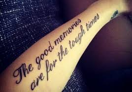 30 best quote tattoos