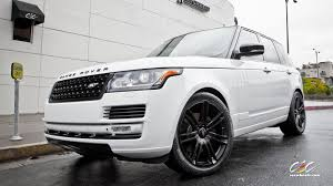 matte white range rover 2013 fuji white range rover undergoes the cec treatment