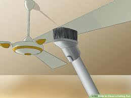 how to clean high ceiling fans high ceiling vacuum cleaner 3 ways to clean a ceiling fan image