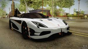 koenigsegg agera rs koenigsegg agera rs v3 for gta san andreas