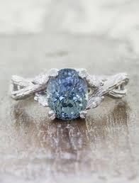 gemstones wedding rings images Nature inspired engagement rings ken dana design jpg